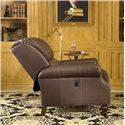 Peter Lorentz 950 Tilt Back Rolled Arm Chair - In Tilt-Back Position
