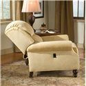 Peter Lorentz 950 Tilt Back Rolled Arm Chair - In Full Tilt-Back Position