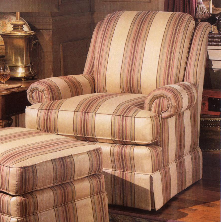 971 Upholstered Chair by Smith Brothers at Gill Brothers Furniture