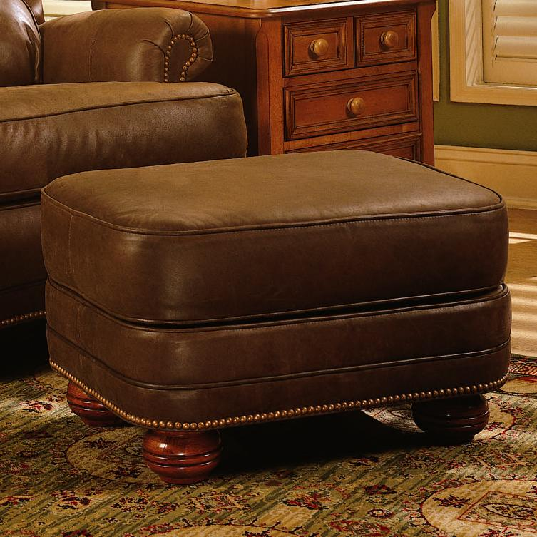988 Upholstered Ottoman by Smith Brothers at Sprintz Furniture