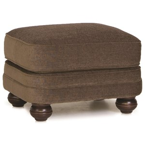 Smith Brothers 988 Upholstered Ottoman