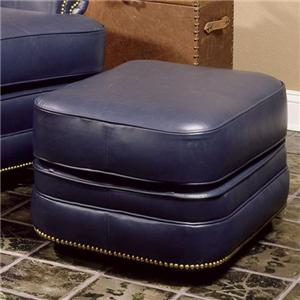 Smith Brothers 990 Leather Ottoman
