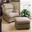 Smith Brothers 990 Tilt-Back and Ottoman - Item Number: 990-03&4