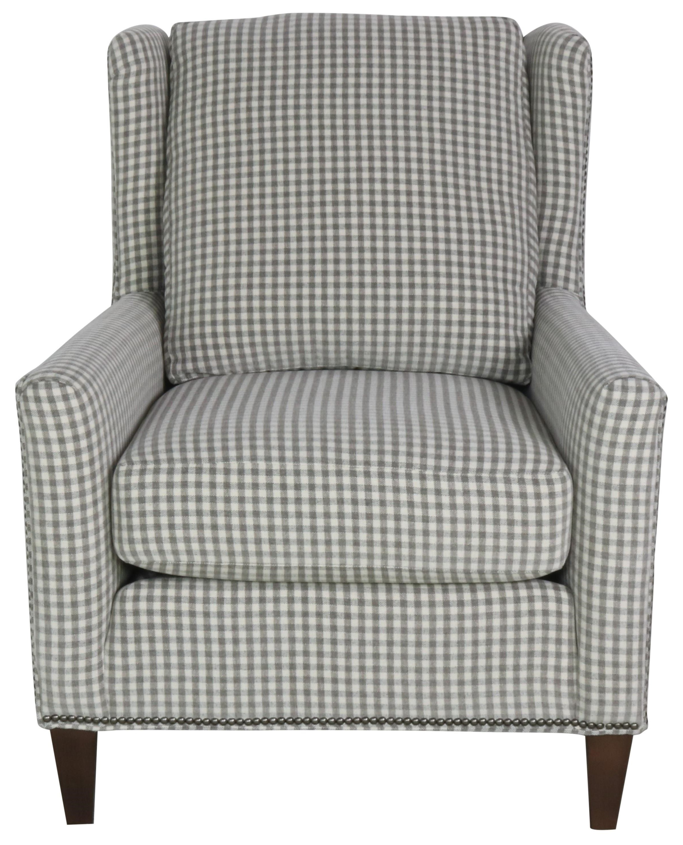 Accent Chairs and Ottomans SB Accent Chair by Smith Brothers at Sprintz Furniture