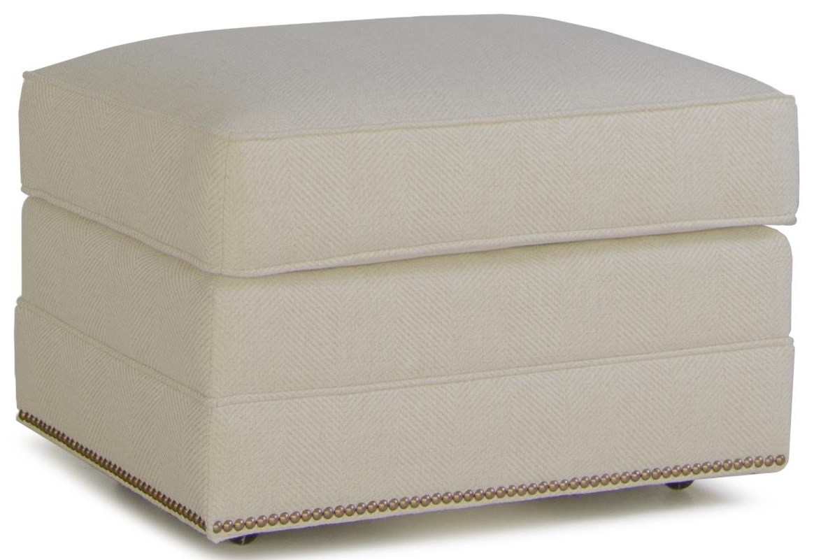 Atwell Ottoman by Smith Brothers at Crowley Furniture & Mattress