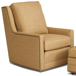 Smith Brothers Accent Chairs and Ottomans SB Swivel Chair