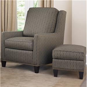 Smith Brothers Accent Chairs and Ottomans SB Chair and Ottoman