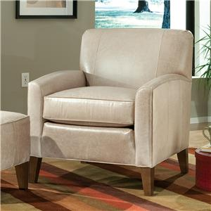Peter Lorentz Accent Chairs and Ottomans SB Contemporary Stationary Chair