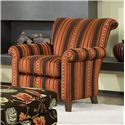 Smith Brothers Accent Chairs and Ottomans SB Transitional Stationary Chair - Item Number: 961