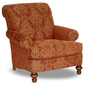 Smith Brothers Accent Chairs and Ottomans SB Upholstered Arm Chair