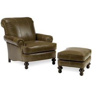 Peter Lorentz Accent Chairs and Ottomans SB Chair & Ottoman