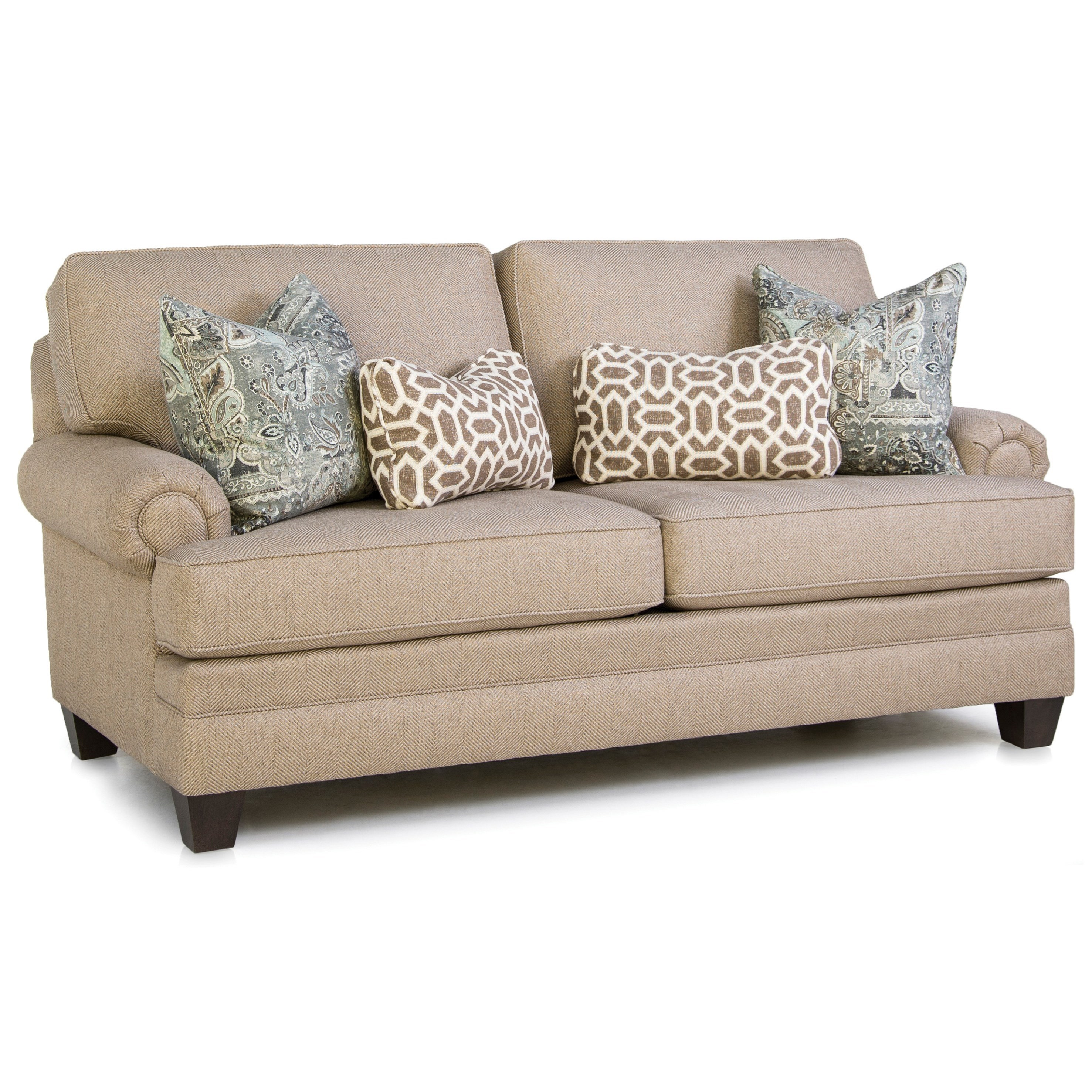 Build Your Own 5000 Series Customizable Mid-Size Sofa by Smith Brothers at Saugerties Furniture Mart