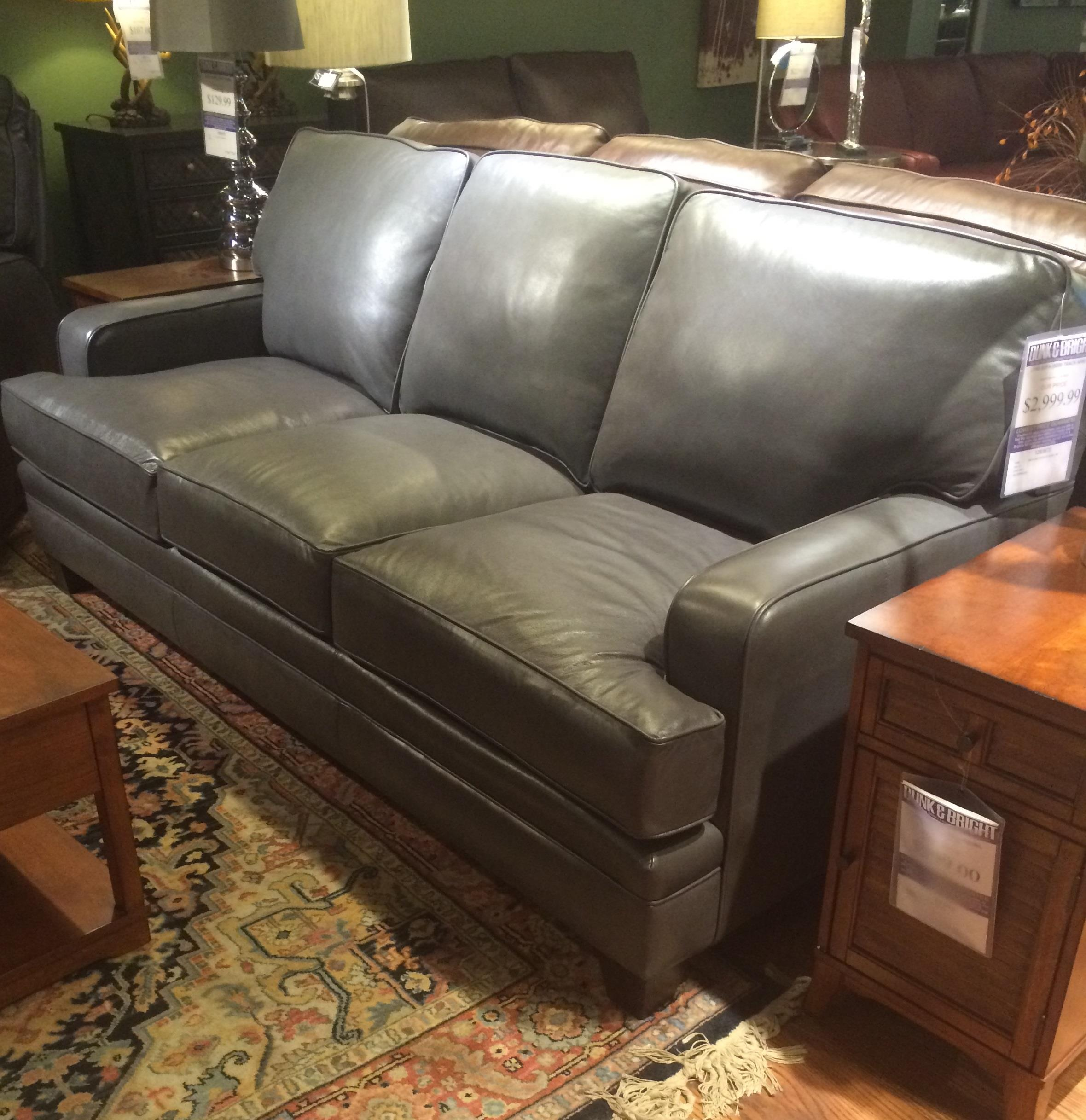 Smith Brothers Build Your Own 5000 Series Leather Sofa Dunk Bright Furniture Sofa