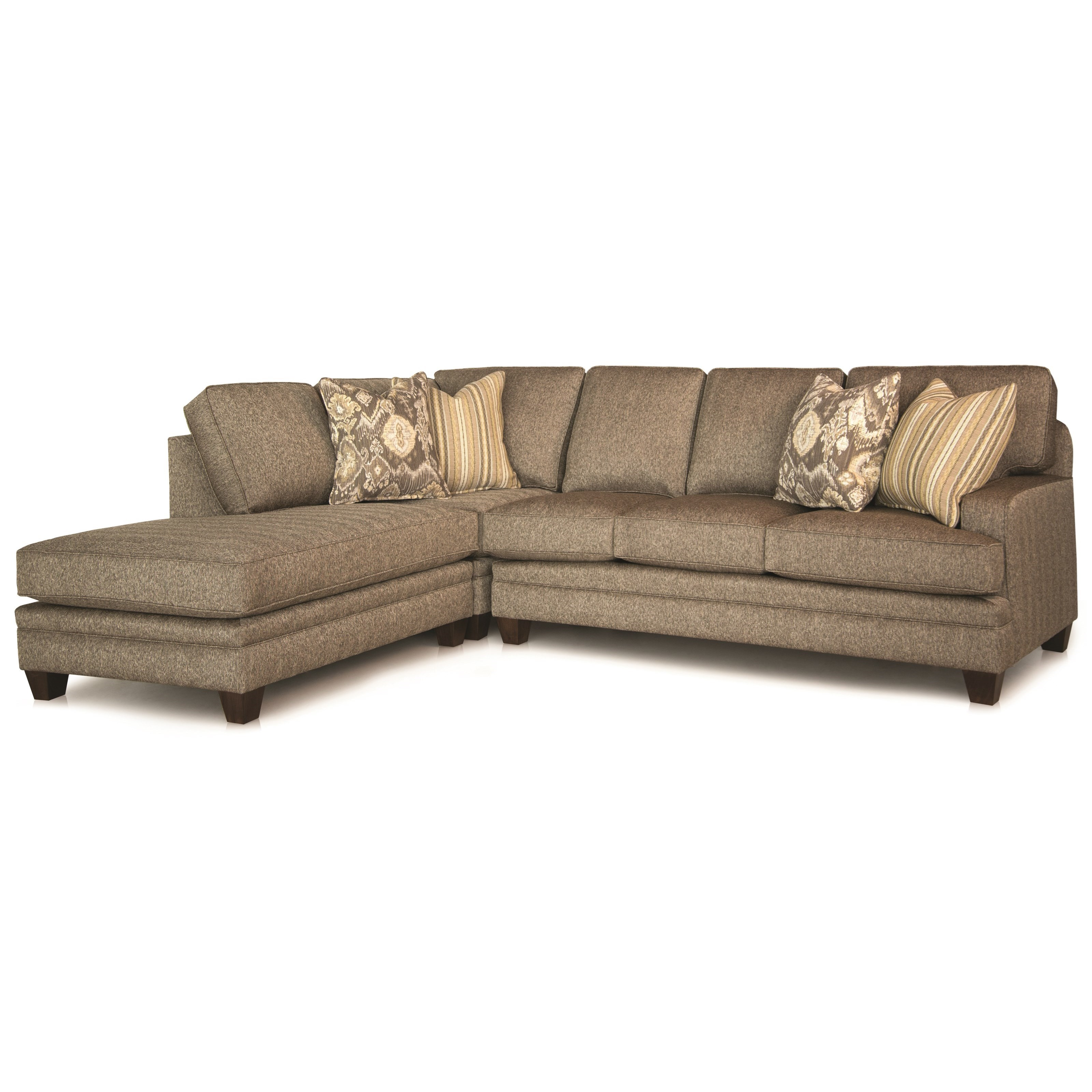 Build Your Own 5000 Series Customizable Chaise Sectional by Smith Brothers at Saugerties Furniture Mart