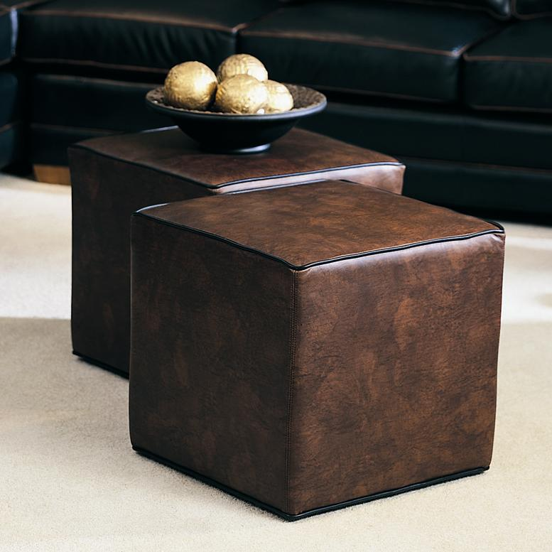Cocktail Ottomans Ottoman by Smith Brothers at Saugerties Furniture Mart