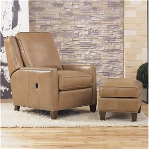Smith Brothers Recliners  Tilt-Back Chair and Ottoman