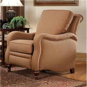 Smith Brothers Recliners  Traditional High Leg Recliner