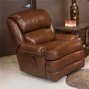 Smith Brothers Smith Brothers Swivel Glider Recliner