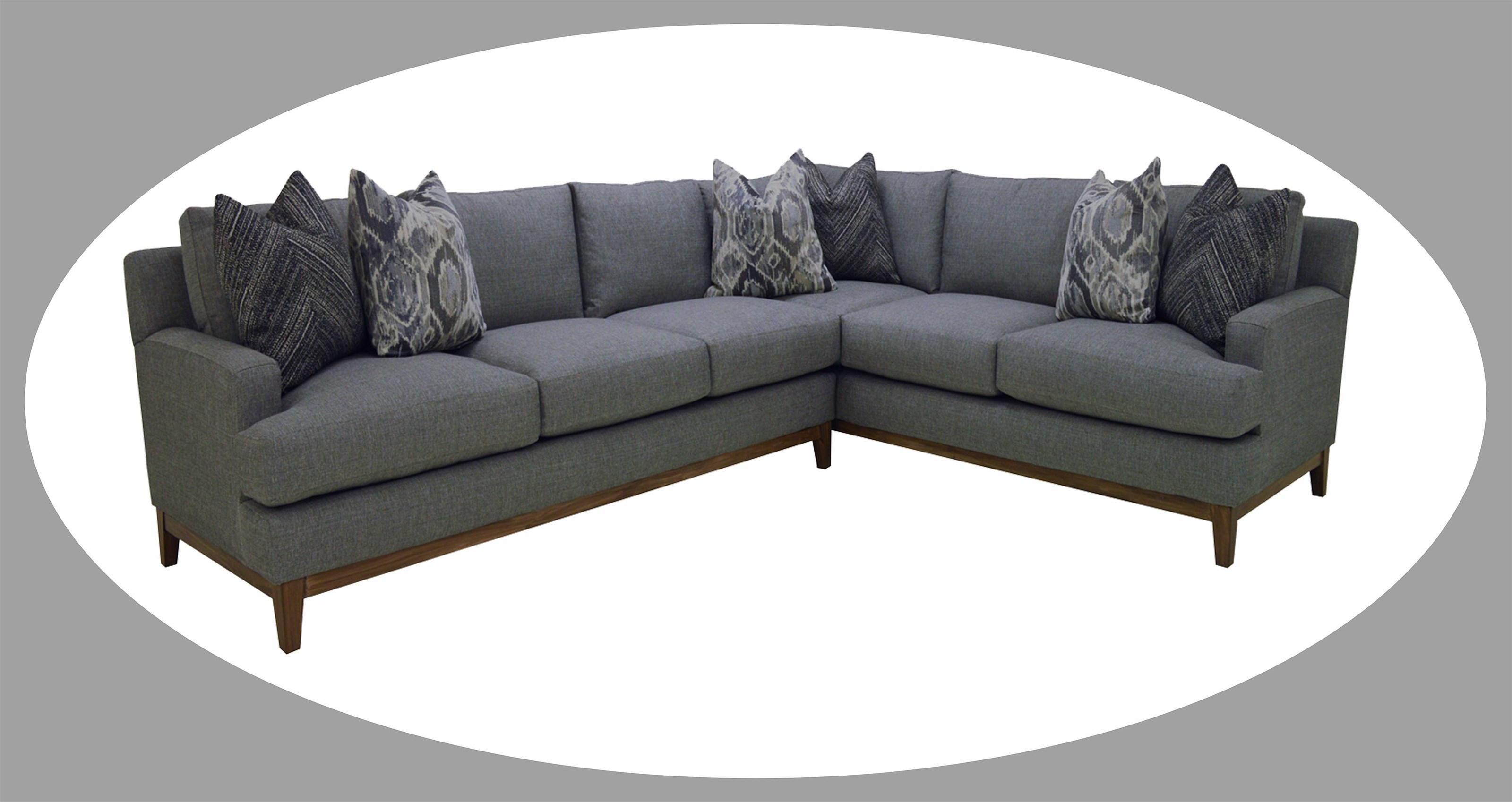 Reeds Trading Company Boston Sectional Sofa Item Number 6071da 05 06
