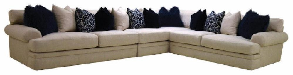 Down 4 PC Sectional