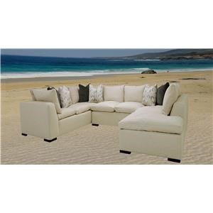 Reeds Trading Company Memphis Sectional Sofa
