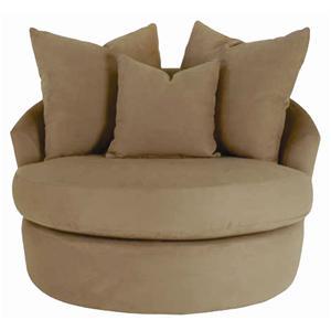 Sofatrend S000 Upholstered Swivel Chair