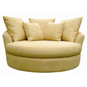 Sofatrend S000 Swivel Love Chair