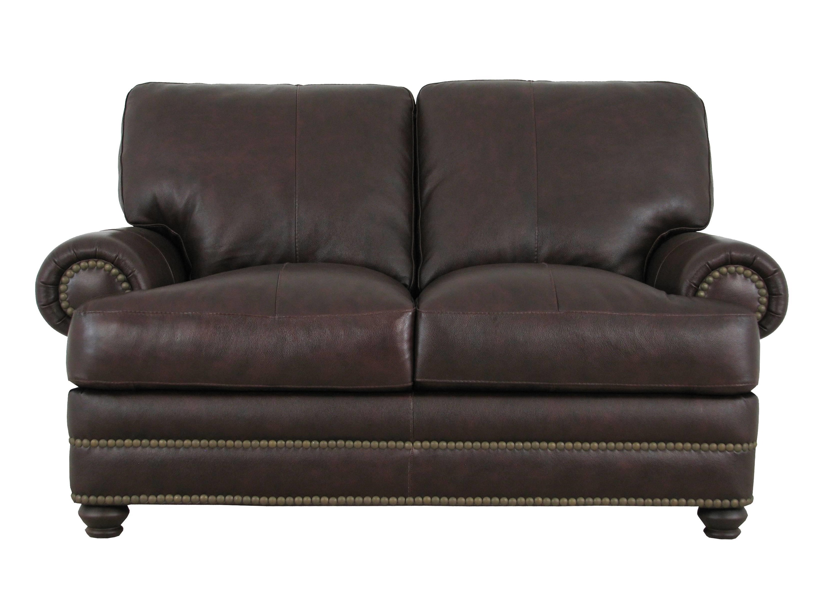Soft Line 7103 Leather Loveseat - Item Number: 7103Loveseat