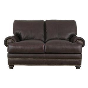 Soft Line 7103 Leather Loveseat