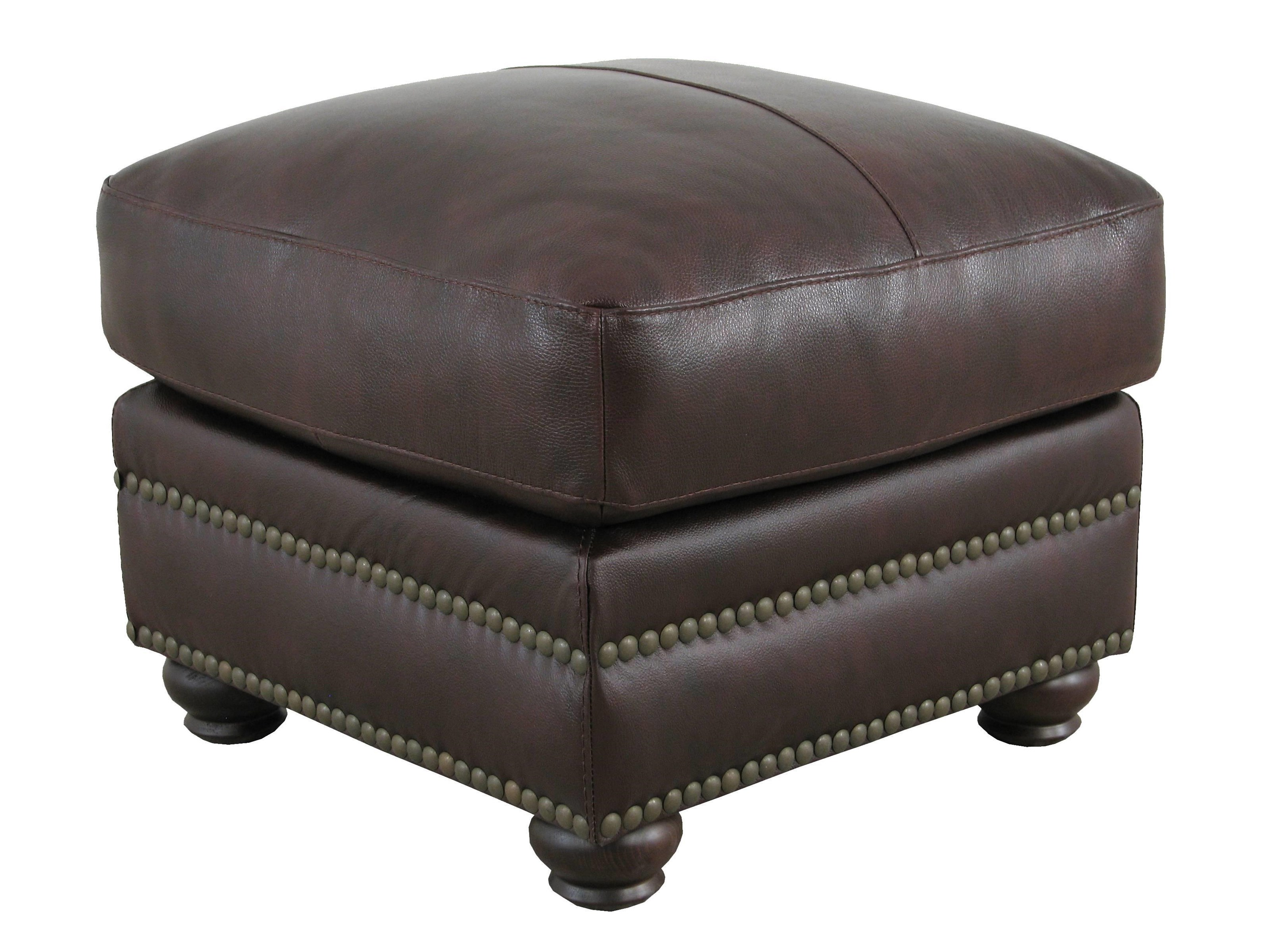 Soft Line 7103 Leather Ottoman - Item Number: 7103Ottoman