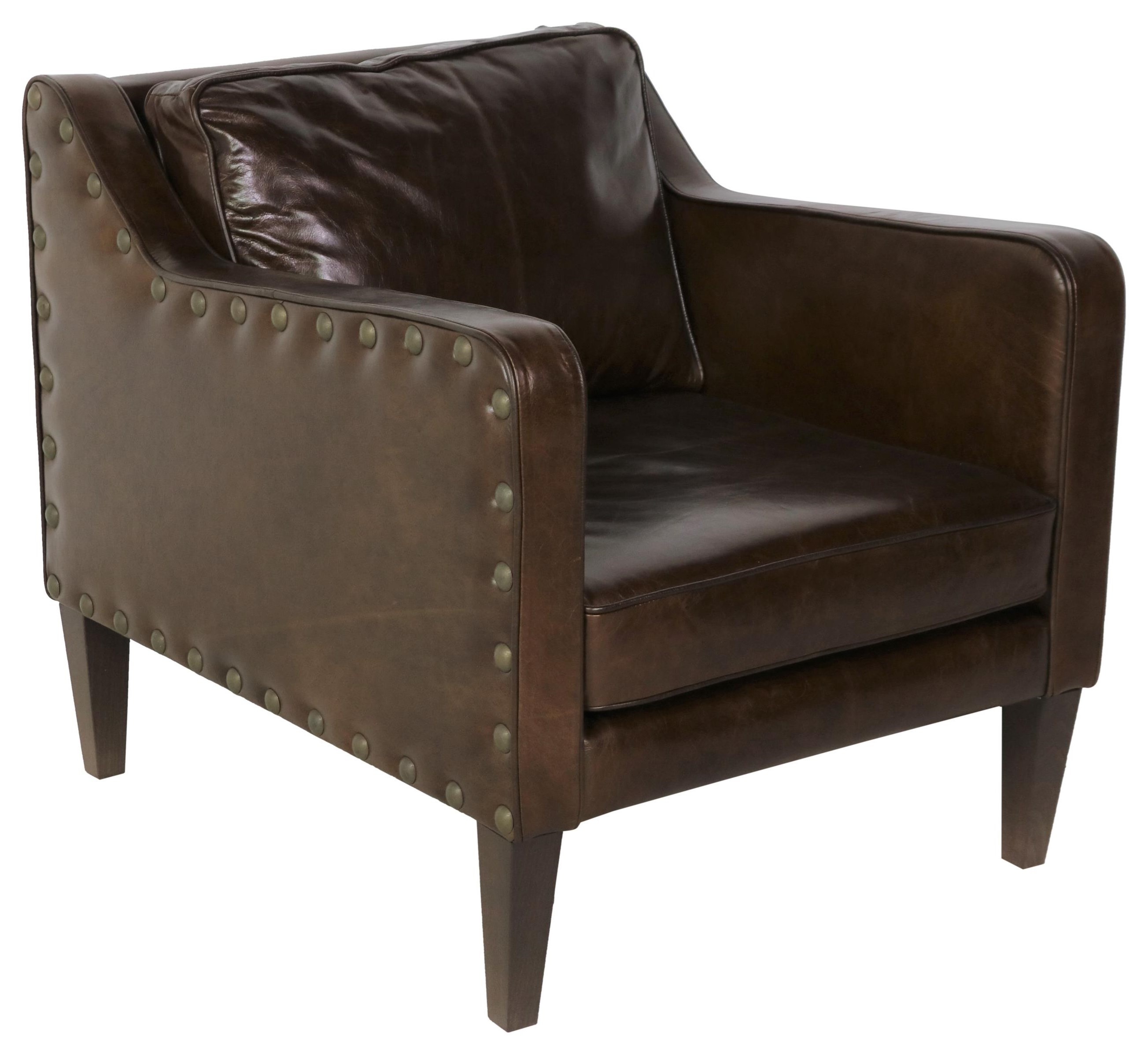 Italian Leather Chair