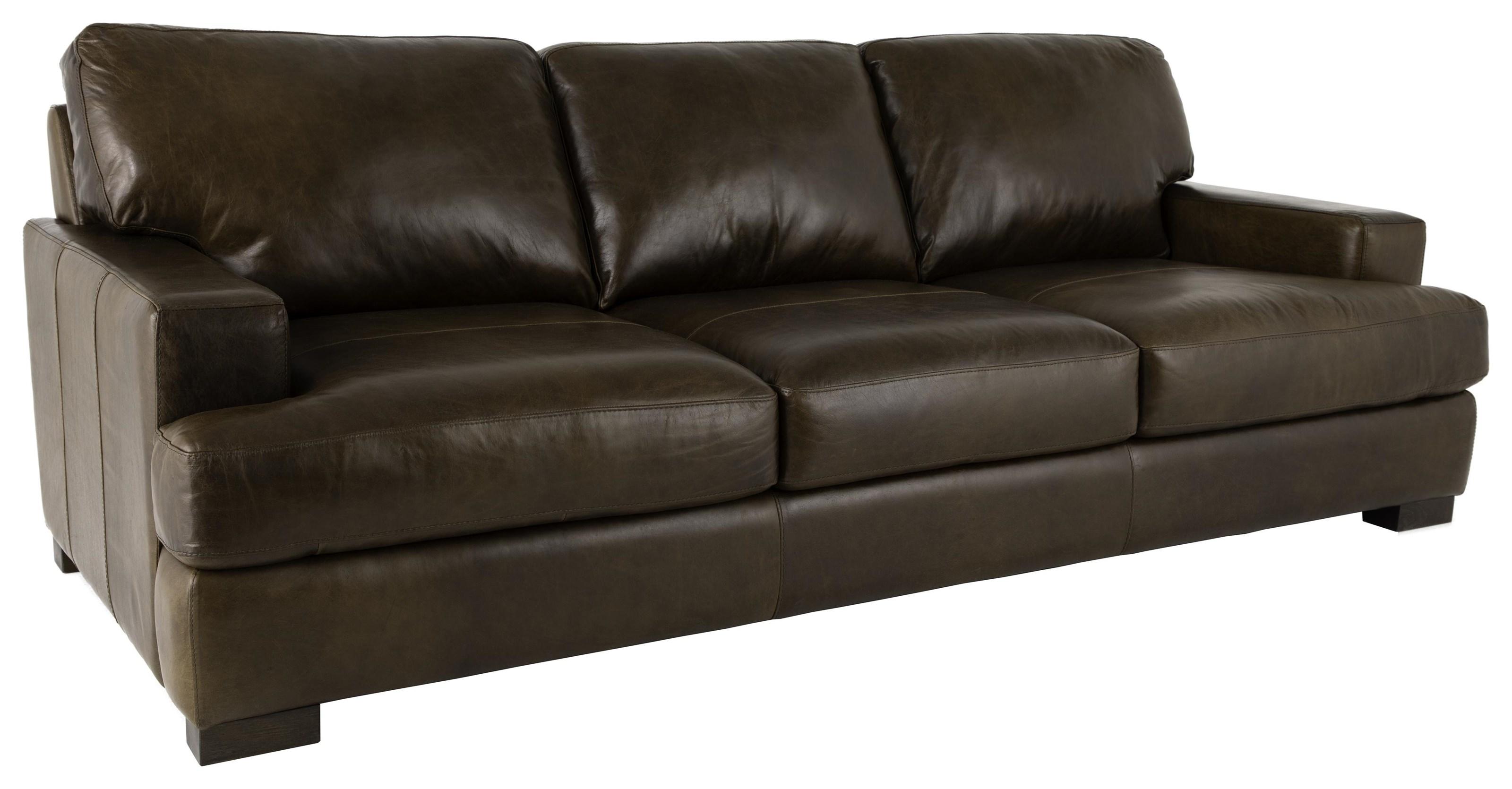 Full Italian Leather Sofa