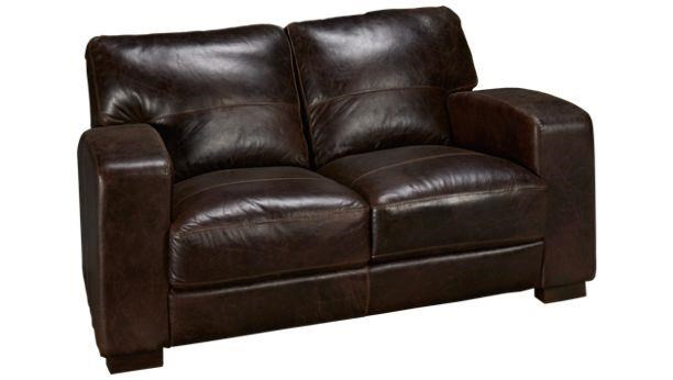 Soft Line 4864 4864-002 Leather Loveseat