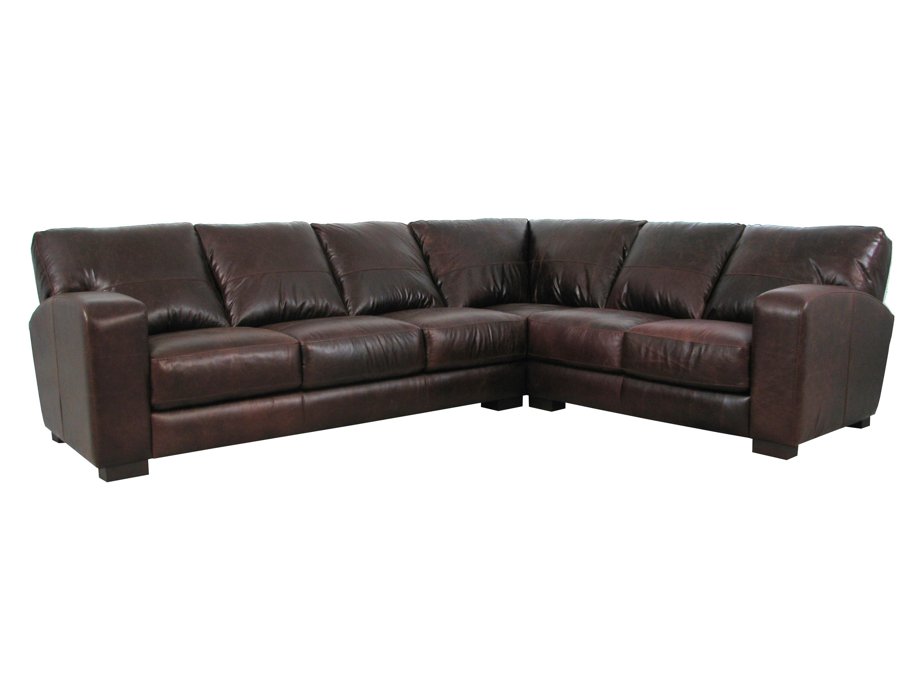 Soft Line 4864 4864 085 012 Leather Sectional Hudson S