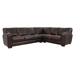 Soft Line 4864 Leather Sectional