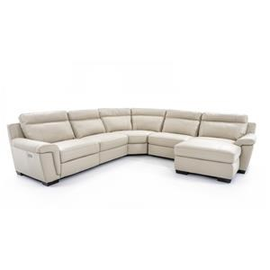 Softaly U137 5 Pc Power Sectional Sofa