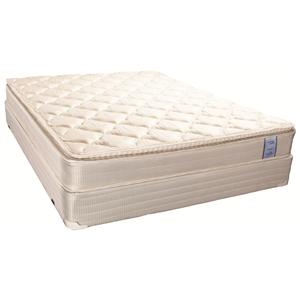 Solstice Sleep Products Cottage Collection Hyannis King Pillow Top Mattress Set