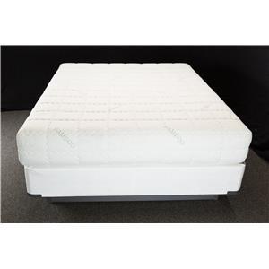 "Solstice Sleep Products Paradise Skandia King 10"" Gel Memory Foam Mattress Set"