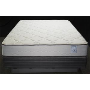 Solstice Sleep Products Veridian Coral Queen Firm Mattress Set