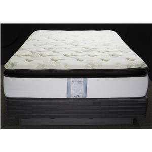 Solstice Sleep Products Veridian Garnet Queen Visco Pillow Top Mattress