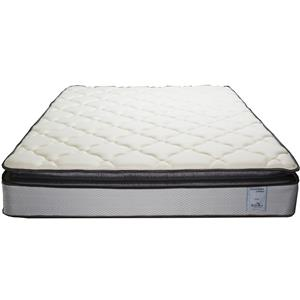 Solstice Sleep Products Veridian Teal Twin Pillow Top Mattress