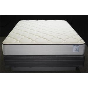 Solstice Sleep Products Veridian Teal Queen Plush Mattress Set