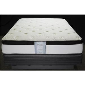 Solstice Sleep Products Veridian Tourmaline Queen Pillow Top Mattress Set