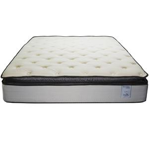 Solstice Sleep Products Veridian Verde Queen Pillow Top Mattress Set