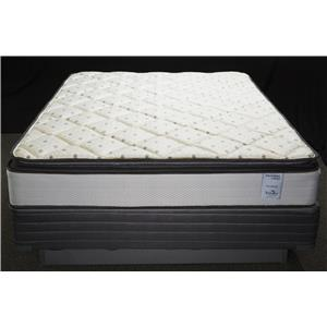 Solstice Sleep Products Veridian Vermillion King Pillow Top Mattress Set