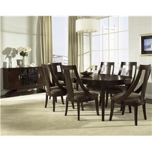 Morris Home Furnishings Cirque 7 Piece Table & Chair Set