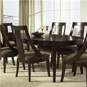 Morris Home Furnishings Cirque Oval Dining Table