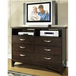 Morris Home Furnishings Cirque Media Chest