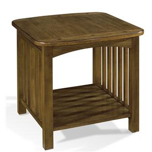 Morris Home Furnishings Craftsman End Table