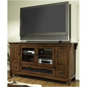 Morris Home Furnishings Craftsman TV Console